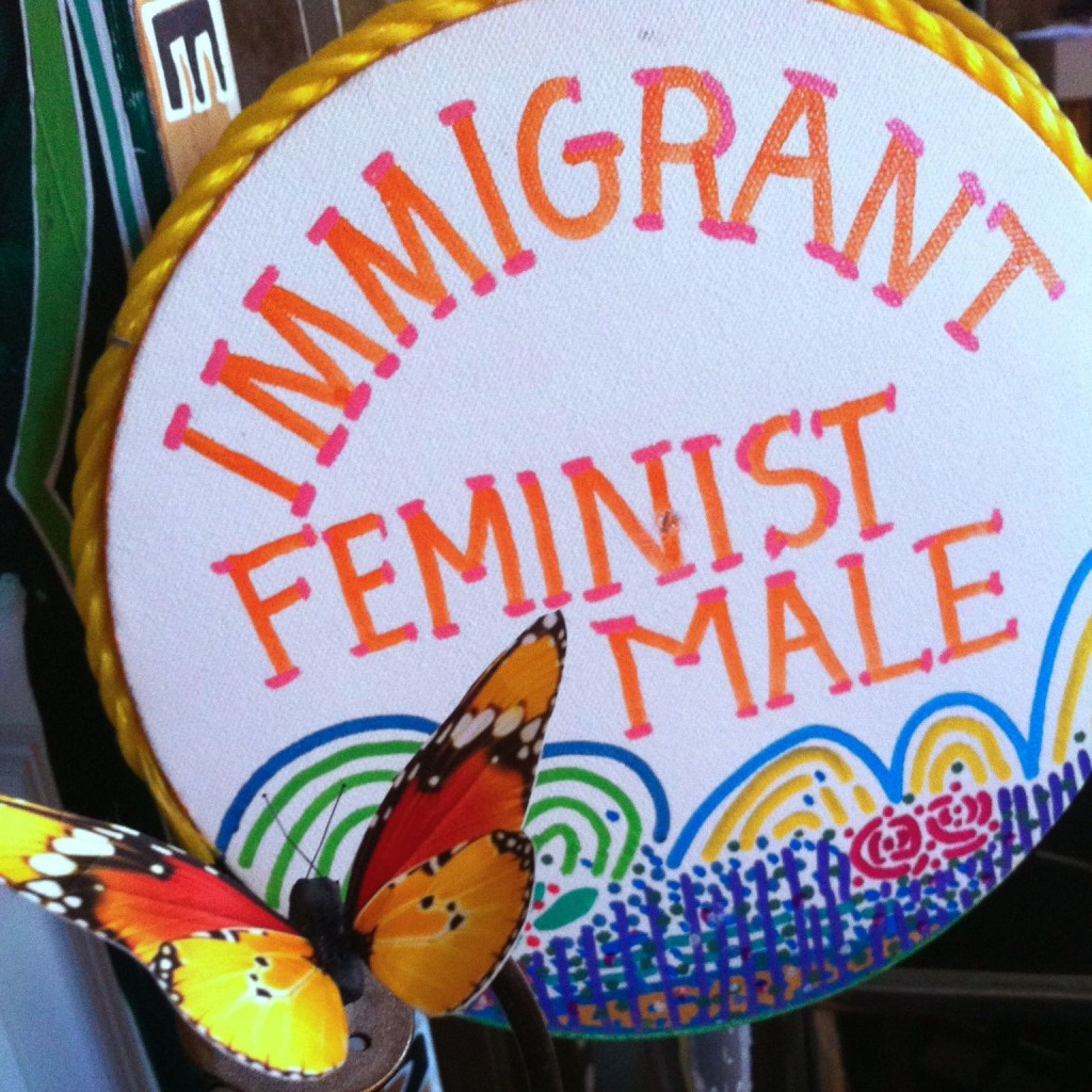 Immigrant Feminist Male by E.G.Silberman, 2000