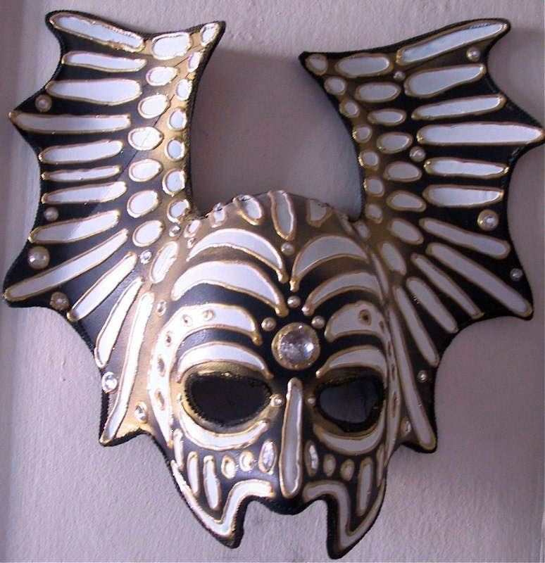 Objects - Winged Mask by E.G.Silberman, 2005