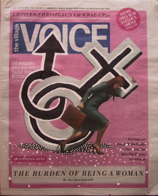 Woman's Weight by Evan Silberman, 2004