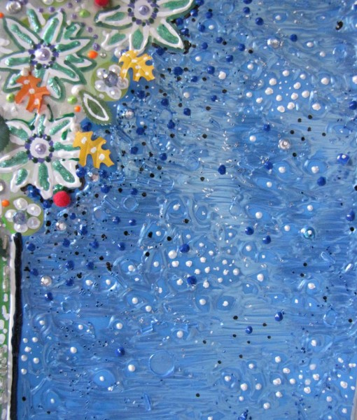 Detail #2 of Floral #3 by E.G.Silberman