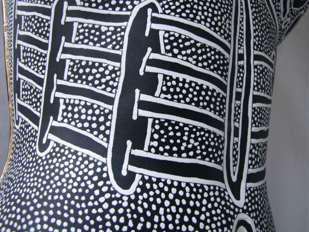 Detail #6 of Woman by E.G.Silberman
