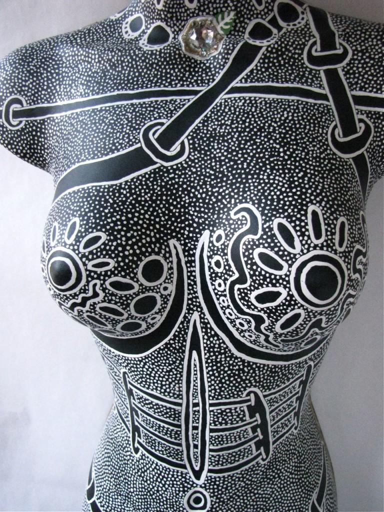 Detail #7 of Woman by E.G.Silberman