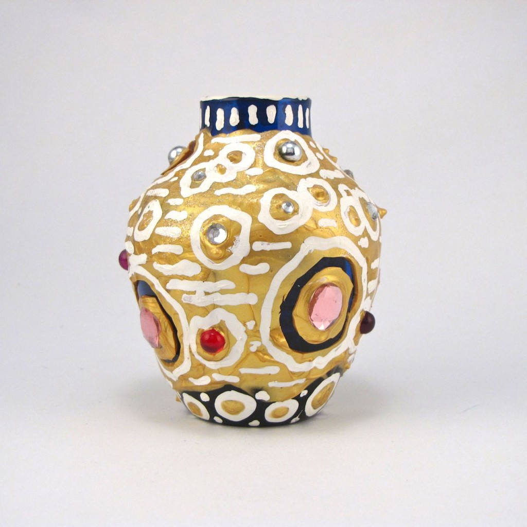 Objects - Gold Vase by E.G.Silberman, 2004
