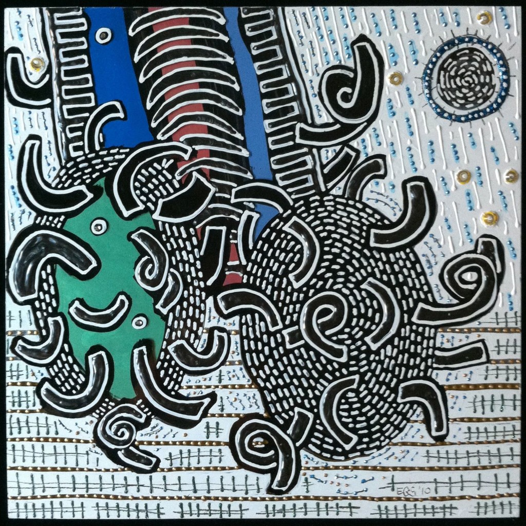 Squares - Climbing by E.G.Silberman, 2010
