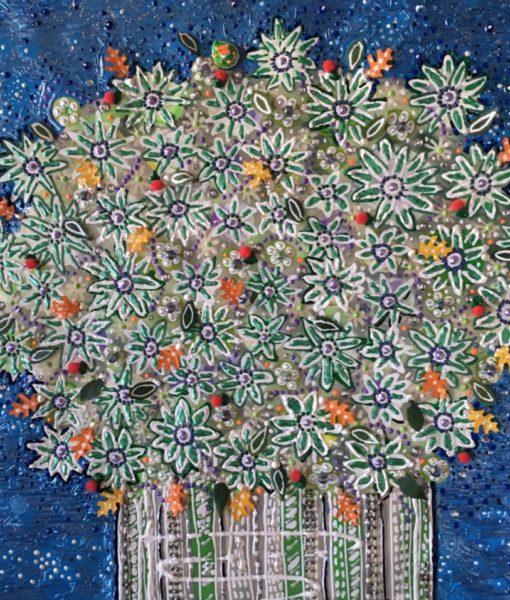 Floral #3 (detail) - Evan Silberman NYC