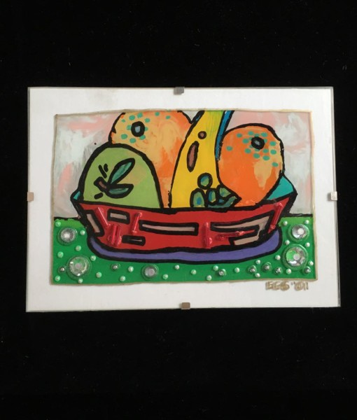 Fruit in Red Bowl – Evan Silberman NYC