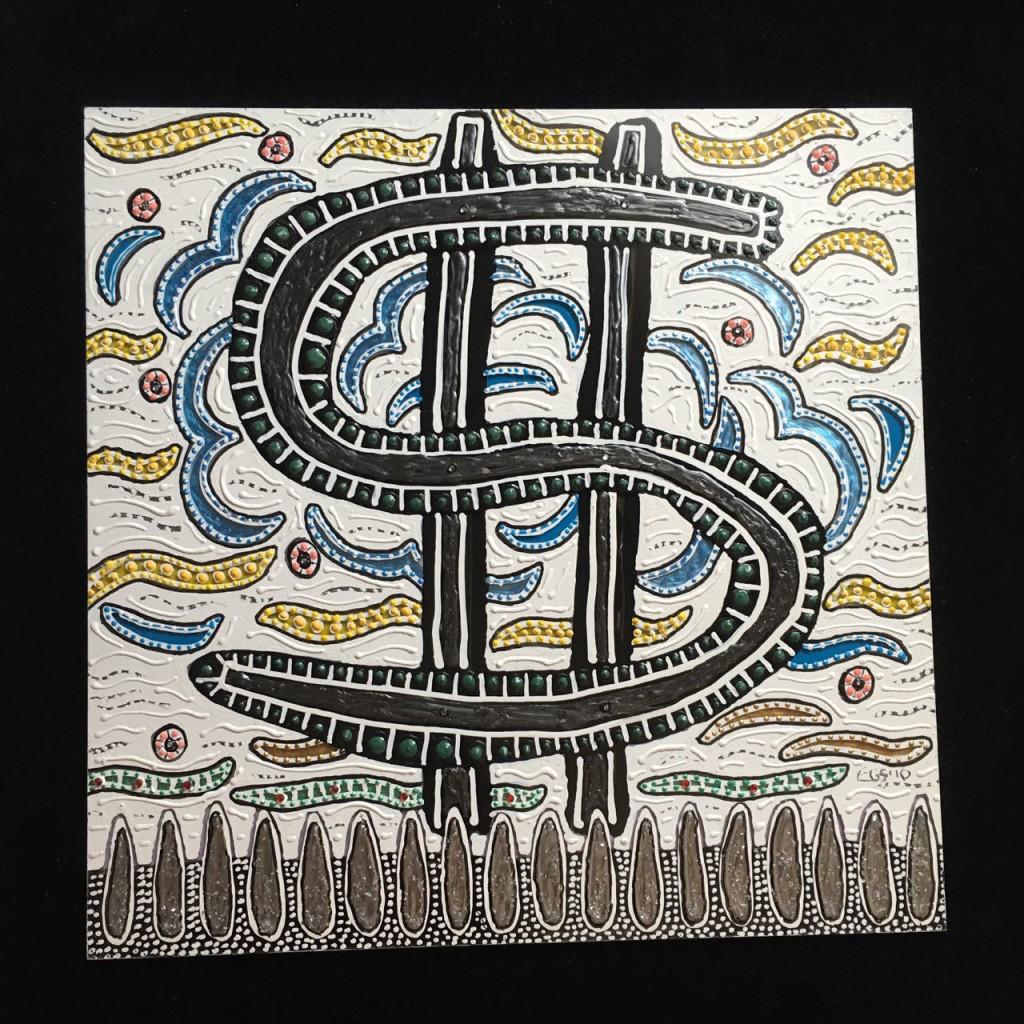 Squares - Dollar Sign - Evan Silberman NYC