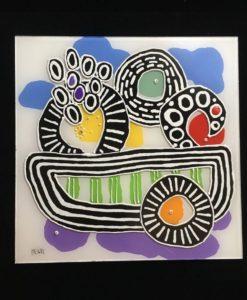 Squares - Bowl of Fruit - Evan Silberman NYC