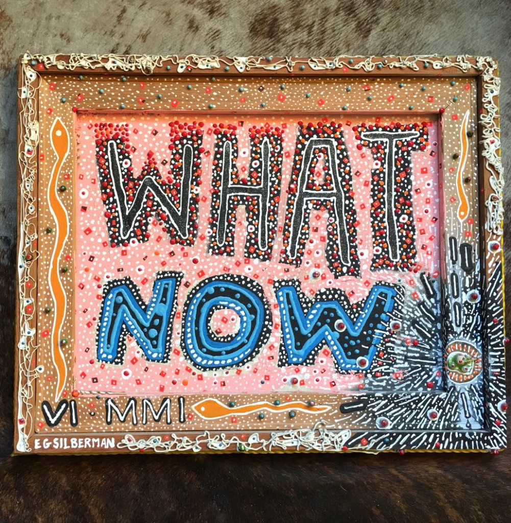 What Now - Evan Silberman NYC - 2001