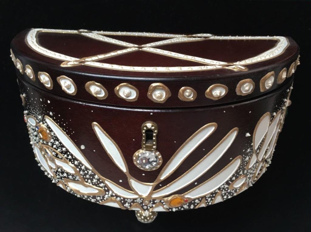 White Jewelry Box - Evan Silberman NYC