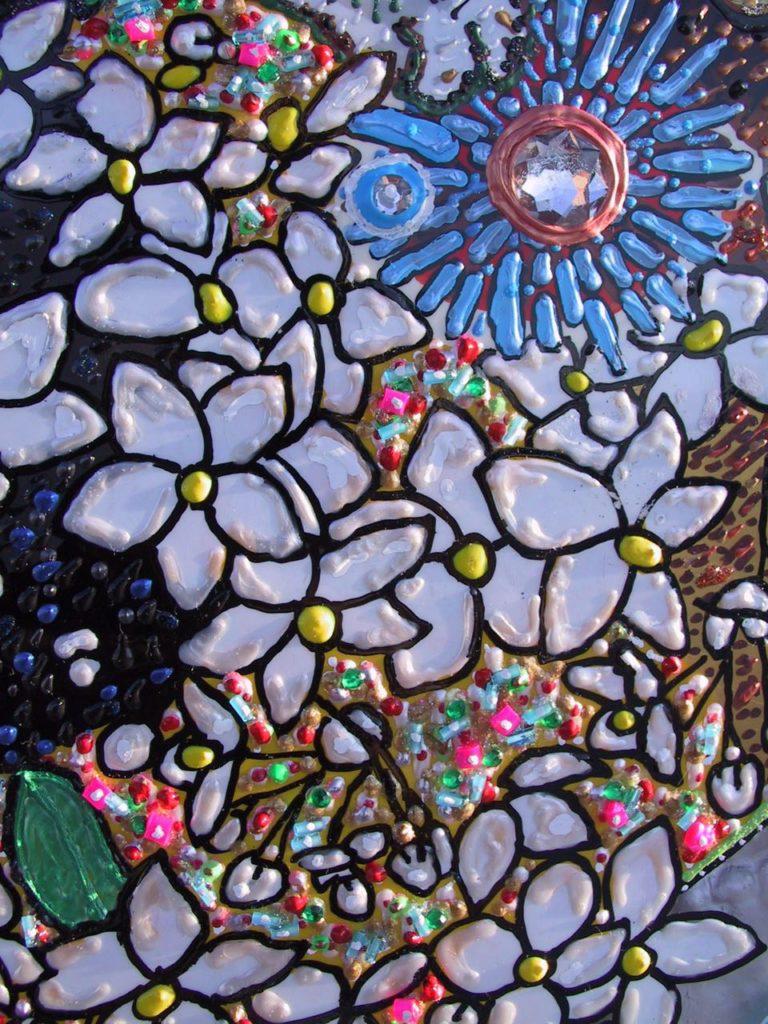 Jasmine's Garden (details) - Evan Silberman NYC - 08