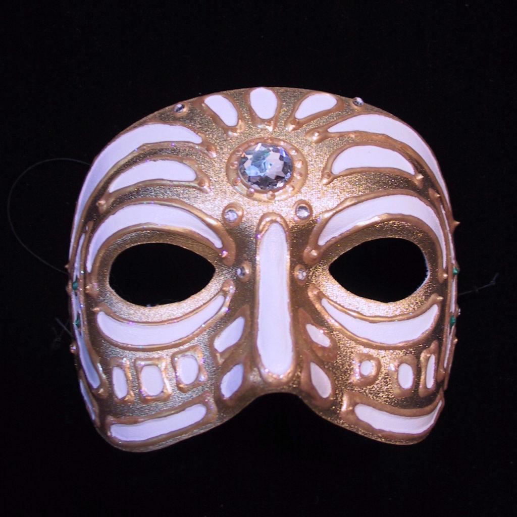 Gold Mask - Evan Silberman NYC