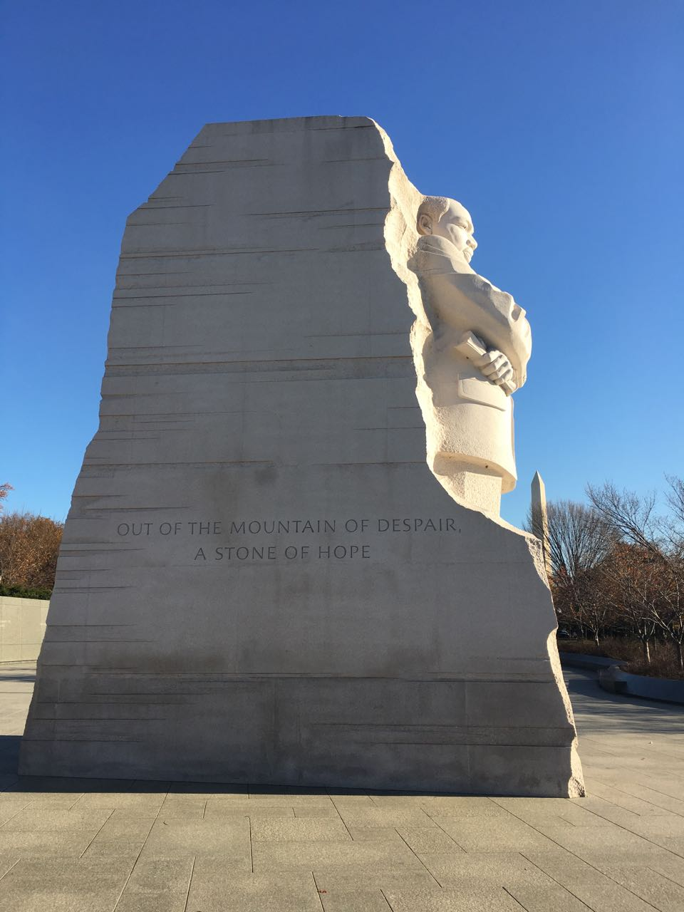Martin Luther King Jr Memorial Washington Dc Out Of The Mountain