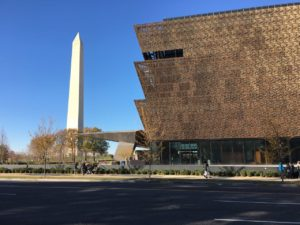 National Museum of African American History and Culture - Washington Monument