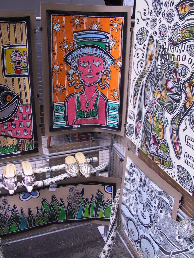Lady in Hat at Fair - Evan Silberman NYC