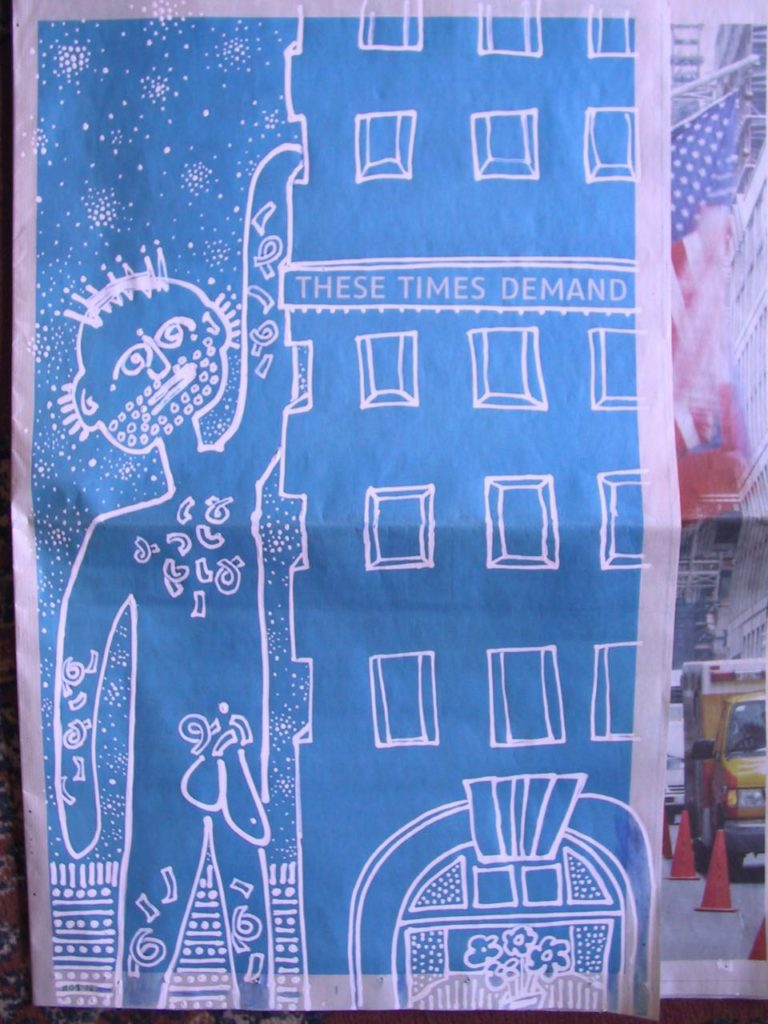 These Times Demand - Evan Silberman NYC